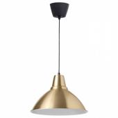 ФОТО Подвесной светильник, желтая медь, 38 см