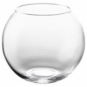 КРОНТ Ваза, прозрачное стекло, 10 см