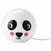 ЭНГАРНА Настольная лампа, светодиодная,орнамент «панда»