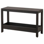 ХАВСТА Консольный стол, темно-коричневый, 100x35x63 см
