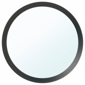 ЛАНГЕСУНД Зеркало, темно-серый, 50 см