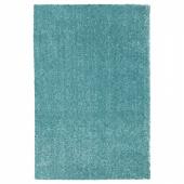 ЛАНГСТЕД Ковер, короткий ворс, бирюзовый, 133x195 см