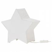 СТРОЛА Украшение для стола, в форме звезды, белый