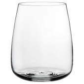 БЕРЭКНА Ваза, прозрачное стекло, 18 см